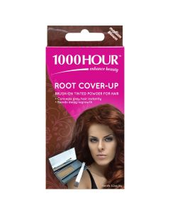 1000 Hour Hair Root Cover Up - Medium Brown