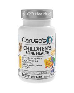 Caruso's Natural Health Children's Bone Health 60 Tablets