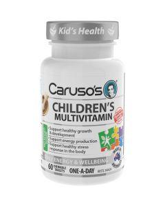 Caruso's Natural Health Children's Multivitamin 60 Tablets