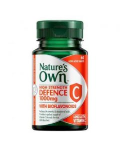 Nature's Own High Strength Defence C Tablets 60