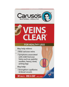 Caruso's Natural Health Veins Clear 30S