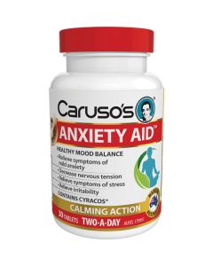 Caruso's Natural Health Anxiety Aid 30S