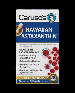 Caruso's Natural Health Hawaiian Astaxanthin 30 Capsules