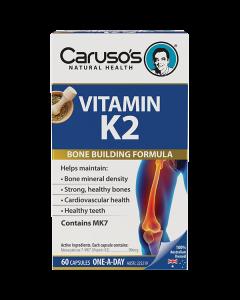 Caruso's Natural Health Vitamin K2 60 Capsules