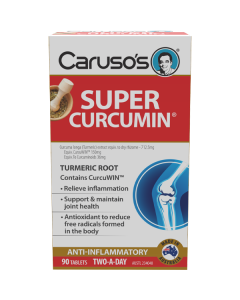 Caruso's Natural Health Super Curcumin 90 Tablets
