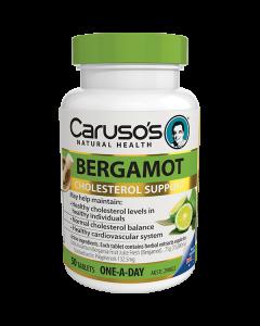 Caruso's Natural Health Bergamot 50 Tablets