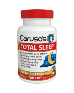 Caruso's Natural Health Total Sleep 30 Tablets