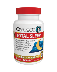 Caruso's Natural Health Total Sleep 60 Tablets