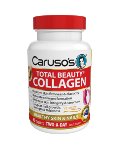 Caruso's Natural Health Total Beauty Collagen 60 Tablets
