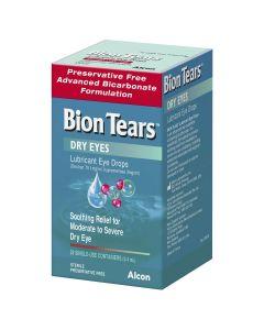 Bion Tears Lubricant Eye Drops 28 x 0.4mL