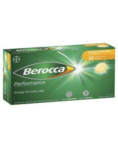 BEROCCA PERF MANGO & ORANGE EFF TAB 30