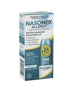 Nasonex Allergy Non-Drowsy 24 Hour Nasal Spray 140 sprays