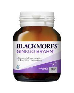 Blackmores Ginkgo + Brahmi (40)