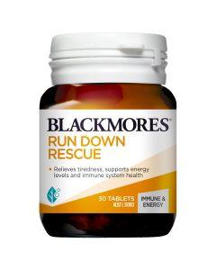 Blackmores Run Down Rescue 30 Tablets