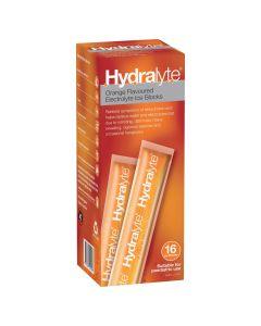 HYDRALYTE ICE BLOCK ORANGE 62.5ML X 16'S