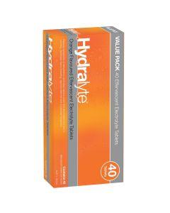 HYDRALYTE EFF TABLETS ORANGE 40