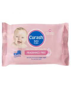Curash Wipes Frag Free 20'S