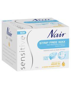 Nair Sensitive Strip Free Wax 400g