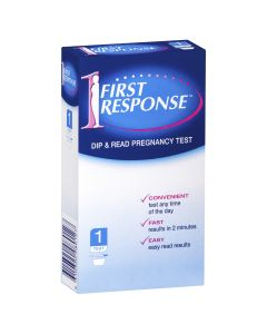 First Response Dip & Read Pregnancy Test 1 Pack