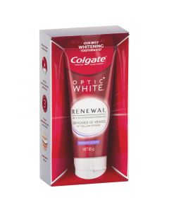 Colgate Optic White Renewal Vibrant Clean Teeth Whitening Toothpaste 85g