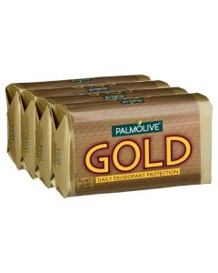 PALMOLIVE GOLD SOAP 4PK 90G