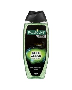 Palmolive Men Deep Clean Body Wash With Spearmint Oil pH Balanced 500mL