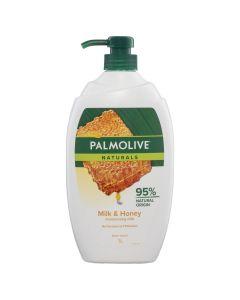 Palmolive Shower Gel 1L Milk & Honey