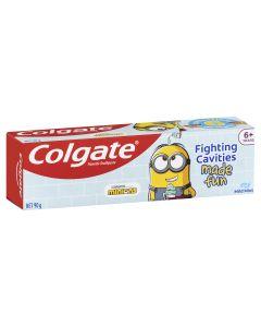 Colgate Kids Minions Toothpaste 6+ Years Mild Mint Gel 90g