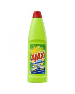 Ajax Cream Cleanser Tough on Grime Kitchen & Bathroom Household Cleaner Baking Soda and Citrus Extracts 375mL