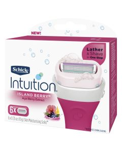 Schick Intuition Island Berry 6 Pack