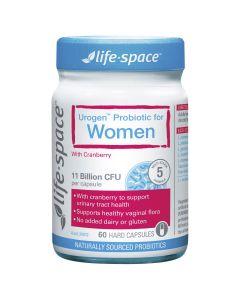 LIFE SPACE UROGEN PROBIOTIC WOMEN 60 CAPS