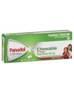 PANADOL CHILD CHEWABLE TABS 24