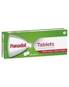 PANADOL TABLETS 20