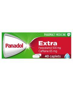 PANADOL EXTRA OPTIZORB CAPLETS 40