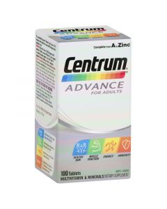 Centrum Advance For Adults Tablets 100 Pack