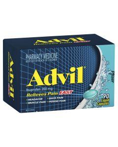 ADVIL LIQUID CAPS 90