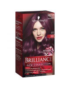 Schwarzkopf Brilliance Intense Permanent Colour Gem Collection 05 Dark Ruby