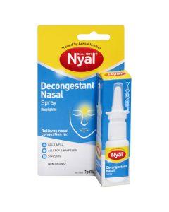Nyal Decongestant Nasal Spray Non-Drowsy 15mL