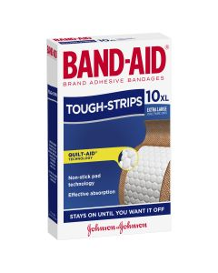 Band-Aid Tough Strips Extra Large Fabric Strips 10 Pack