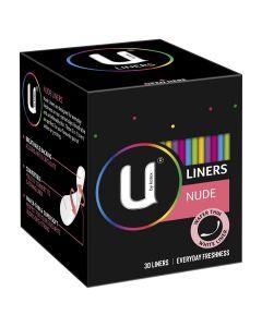 U by Kotex Liners Nude 30X12
