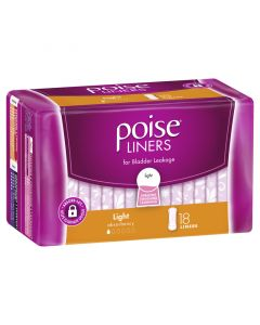 Poise Light Liners 18 Pack