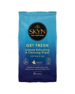 SKYN Get Fresh Intimate Refreshing & Cleaning Wipes 30 Pack