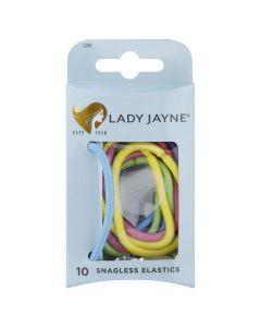 Lady Jayne Snagless Thick Elastics  - Pk 10