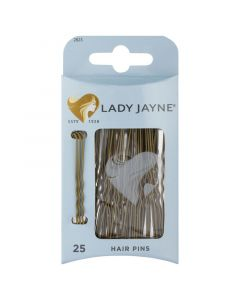Lady Jayne Hair Pins, Brown, 6.25 Cm, Pack 25