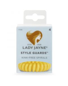 Lady Jayne Style Guards™ School Colours- Yellow, Pack 4
