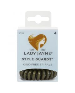 Lady Jayne Style Guards™ School Colours- Green, Pack 4
