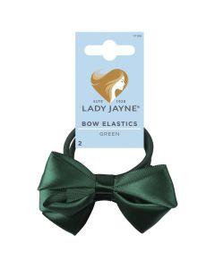 Lady Jayne Bow Elastics Pack 2 Green