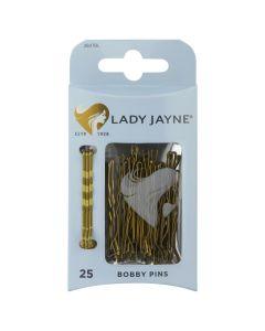 Lady Jayne Bobby Pins, Blonde, 4.5 Cm, Pack 25