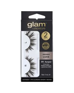 Glam by Manicare Lash Harper (Mink Luxe) 2 Pack