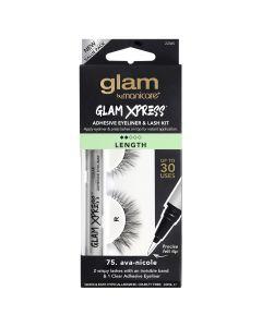 Glam by Manicare 75. ava-nicole Glam Xpress® Clear Adhesive Eyeliner & Lash Kit